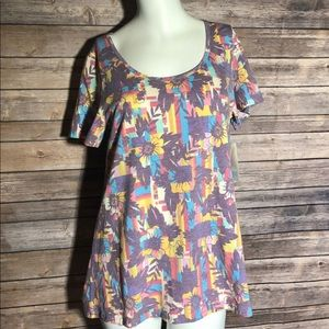 Lularoe Classic T Floral Small NWT Bundle & Save